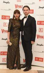 Tatiana Ernuteanu si sotul ei, Adrian
