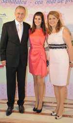Ana Maria, Mihaela si Mircea Geoana