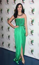 Katy Perry  (rochie Yves Saint Laurent)