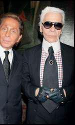 Karl Lagerfeld și Valentino