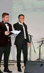 Pavel Bartos si Claudiu David (BMW)