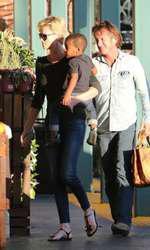 Sean Penn si Charlize Theron