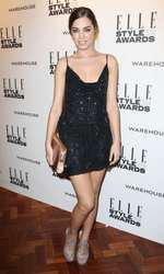 Mandatory Credit: Photo by Matt Baron/BEImages (1924228b) Amber Le Bon Elle Style Awards, London, Britain - 18 Feb 2014