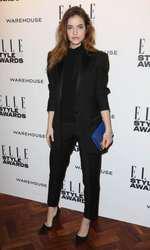 Mandatory Credit: Photo by Matt Baron/BEImages (1924228j) Barbara Palvin Elle Style Awards, London, Britain - 18 Feb 2014