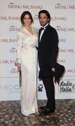 Catrinel Marlon;Massimiliano Di Lodovico  Premiere of the film - Saving Mr Banks Rome - Italy 06 February 2014 © FameFlynet_Italy/SGP ID: 88184 Not exclusive