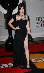 Mandatory Credit: Photo by Matt Baron/BEImages (1924351am) Daisy Lowe The Brit Awards, Arrivals, O2 Arena, London, Britain - 19 Feb 2014