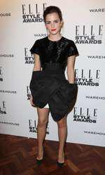 Mandatory Credit: Photo by Matt Baron/BEImages (1924228au) Emma Watson Elle Style Awards, London, Britain - 18 Feb 2014