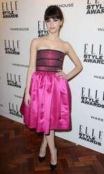 Mandatory Credit: Photo by Matt Baron/BEImages (1924228bq) Felicity Jones Elle Style Awards, London, Britain - 18 Feb 2014