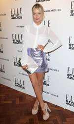 Mandatory Credit: Photo by Matt Baron/BEImages (1924228eb) Laura Whitmore Elle Style Awards, London, Britain - 18 Feb 2014