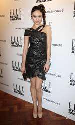 Mandatory Credit: Photo by Matt Baron/BEImages (1924228ev) Olga Kurylenko Elle Style Awards, London, Britain - 18 Feb 2014