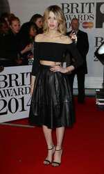 Mandatory Credit: Photo by Matt Baron/BEImages (1924351hp) Peaches Geldof The Brit Awards, Arrivals, O2 Arena, London, Britain - 19 Feb 2014