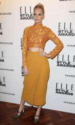 Mandatory Credit: Photo by Matt Baron/BEImages (1924228fh) Poppy Delevingne Elle Style Awards, London, Britain - 18 Feb 2014