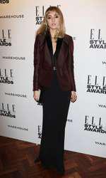 Mandatory Credit: Photo by Matt Baron/BEImages (1924228gg) Suki Waterhouse Elle Style Awards, London, Britain - 18 Feb 2014