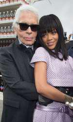Karl Lagerfeld și Rihanna