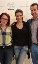 Nicoleta Luciu, Roxana Bursuc, Iuliana Luciu Georgios Betchavas (Tommy Hilfiger)