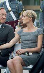 """Claire (Robin Wright) si Francis Underwood (Kevin Spacey) in """"House of Cards"""""""