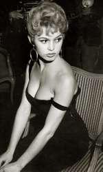 Brigitte Bardot, circa 1954.