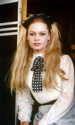 """Brigitte Bardot in character for the film """"Viva Maria!"""" 1965."""