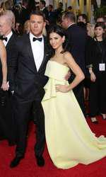 Mandatory Credit: Photo by Jim Smeal/BEImages (2616893ci) Channing Tatum and Jenna Dewan 72nd Annual Golden Globe Awards, Arrivals, Los Angeles, America â?? 11 Jan 2015