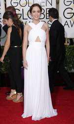 Mandatory Credit: Photo by Jim Smeal/BEImages (2616893at) Emily Blunt 72nd Annual Golden Globe Awards, Arrivals, Los Angeles, America â?? 11 Jan 2015