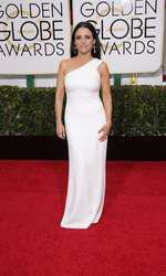 Mandatory Credit: Photo by Jim Smeal/BEImages (2616893ab) Julia Louis Dreyfuss 72nd Annual Golden Globe Awards, Arrivals, Los Angeles, America â?? 11 Jan 2015