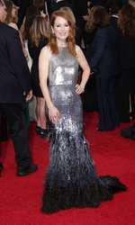 Mandatory Credit: Photo by Jim Smeal/BEImages (2616893an) Julianne Moore 72nd Annual Golden Globe Awards, Arrivals, Los Angeles, America â?? 11 Jan 2015