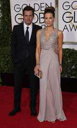 Mandatory Credit: Photo by Jim Smeal/BEImages (2616893bq) Len Wiseman and Kate Beckinsale 72nd Annual Golden Globe Awards, Arrivals, Los Angeles, America â?? 11 Jan 2015