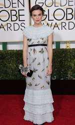 Mandatory Credit: Photo by Jim Smeal/BEImages (2616893bz) Keira Knightley 72nd Annual Golden Globe Awards, Arrivals, Los Angeles, America â?? 11 Jan 2015