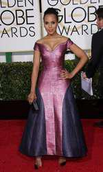 Mandatory Credit: Photo by Jim Smeal/BEImages (2616893bt) Kerry Washington 72nd Annual Golden Globe Awards, Arrivals, Los Angeles, America â?? 11 Jan 2015