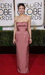 Mandatory Credit: Photo by Jim Smeal/BEImages (2616893cc) Maggie Gyllenhaal 72nd Annual Golden Globe Awards, Arrivals, Los Angeles, America â?? 11 Jan 2015