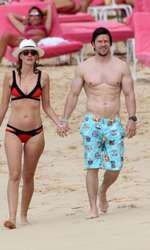 Mark Wahlberg si Rhea Durham in Barbados