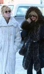 Melanie Griffith si Goldie Hawn in Aspen, Colorado