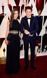 Eddie Redmayne and Hannah Bagshawe arriving at the 87th Academy Awards held at the Dolby Theatre in Hollywood, Los Angeles, CA, USA, February 22, 2015.   February 22, 2015 academy awards