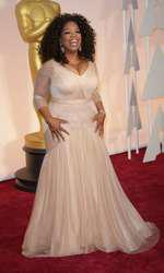 Mandatory Credit: Photo by Jim Smeal/BEImages (2661278fa) Oprah Winfrey 87th Academy Awards, Oscars, Arrivals, Los Angeles, America - 22 Feb 2015