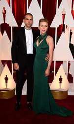 Scarlett Johansson si Romain Dauriac