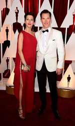 Sophie Hunter and Benedict Cumberbatch arriving at the 87th Academy Awards held at the Dolby Theatre in Hollywood, Los Angeles, CA, USA, February 22, 2015.   February 22, 2015 academy awards