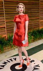 EMMA ROBERTS  @ the 2014 Vanity Fair Oscar party held @ 8680 Sunset boulevard. March 2, 2014
