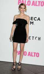 """05 May 2014 - Hollywood, California - Emma Roberts. """"Palo Alto"""" Los Angeles Premiere held at the Directors Guild of America. Photo Credit: Byron Purvis/AdMedia"""
