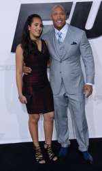 Dwayne Johnson si Simone, fiica lui