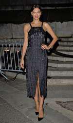 Irina Shayk la petrecerea Vanity Fair