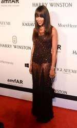 Naomi Campbell – Rochie Givenchy Haute Couture la Gala amfAR de la Sao Paolo