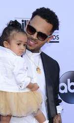 Chris Brown si fiica lui