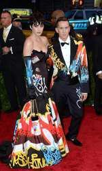 Katy Perry attending The Metropolitan Museum of Art Met Gala, in New York City, USA.  (Mandatory Credit: Doug Peters/EMPICS Entertainment)   May 4, 2015 Costume Institute Benefit Gala