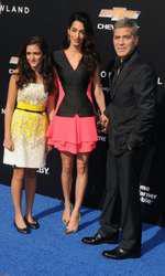Mia Alamuddin, Amal Clooney, George Clooney