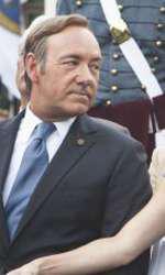 """Robin Wright lături de Kevin Spacey în """"House of Cards"""""""