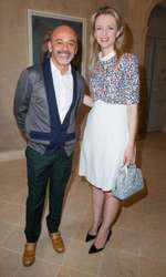 Christian Louboutin si Delphine Arnault