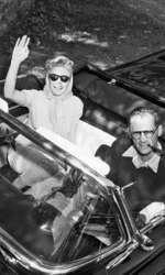 Împreună cu al treilea soț, Arthur Miller