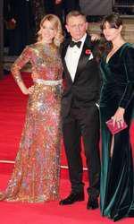 Lea Seydoux, Daniel Craig si Monica Bellucci1