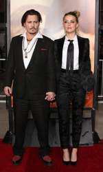 Amber Heard si Johnny Depp