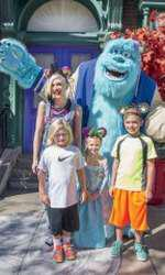 Gwen Stefani alături de fiii ei, Kingston (dreapta) și Zuma, și de nepoata ei, Stella